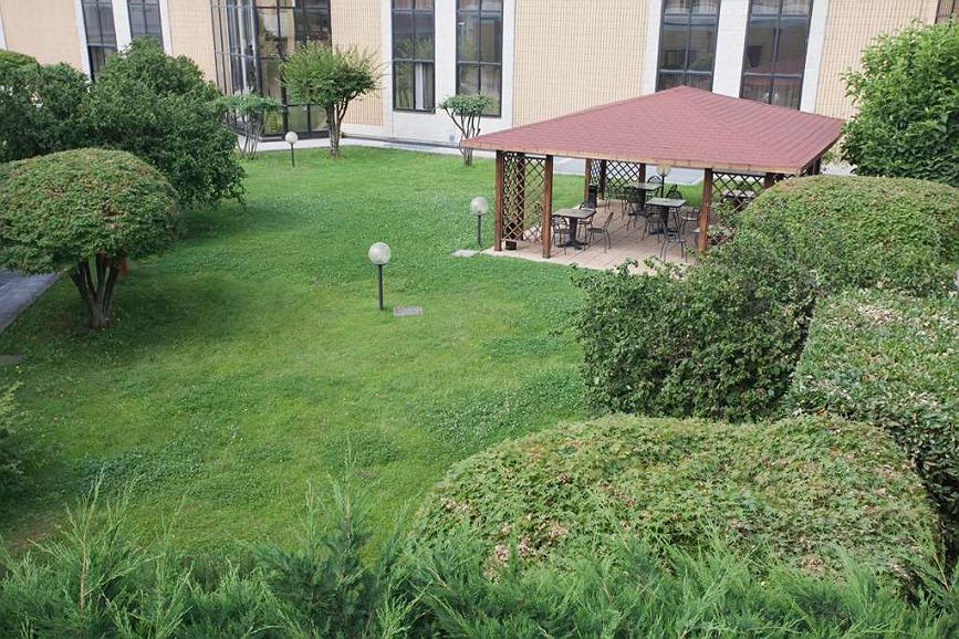 Best Western Mirage Hotel Fiera - Garden Area
