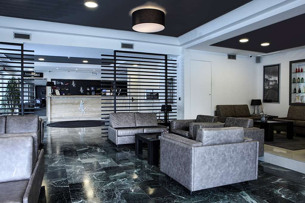 Best Western JFK Hotel - Front Desk and Lobby Area