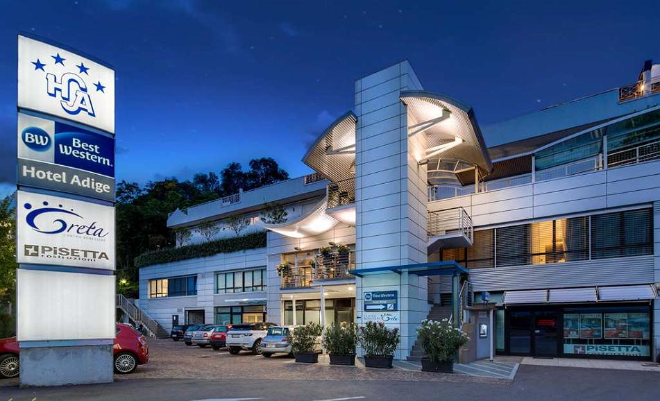 Best Western Hotel Adige - Aussenansicht