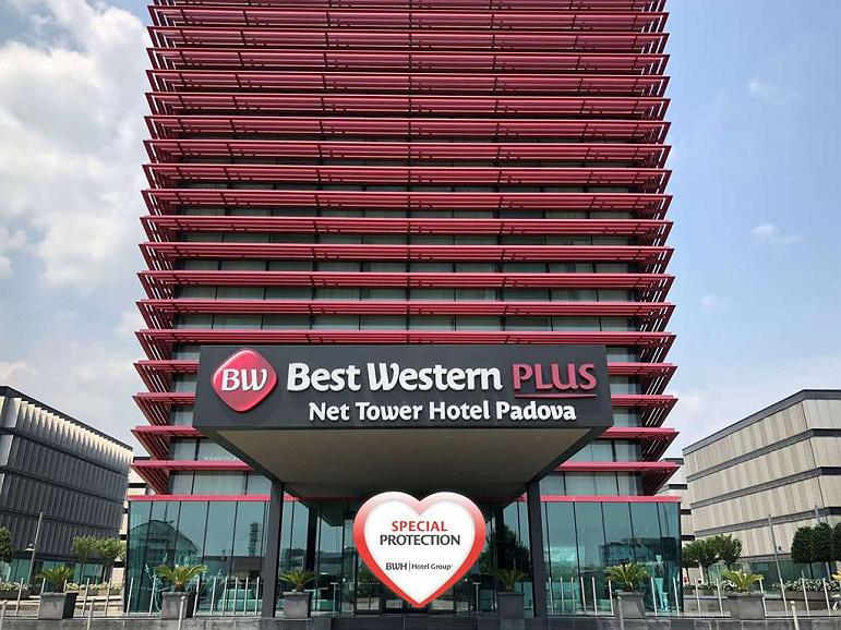 Best Western Plus Net Tower Hotel Padova - Area esterna