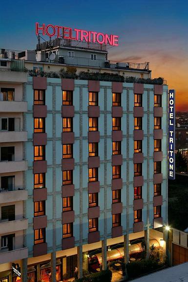 Best Western Hotel Tritone - Aussenansicht