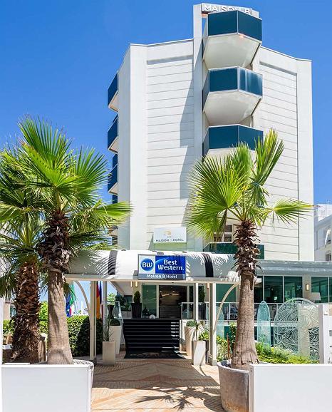 Best Western Maison B Hotel - Aussenansicht