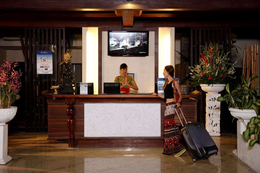 Best Western Resort Kuta - Hotelfoyer/Rezeption