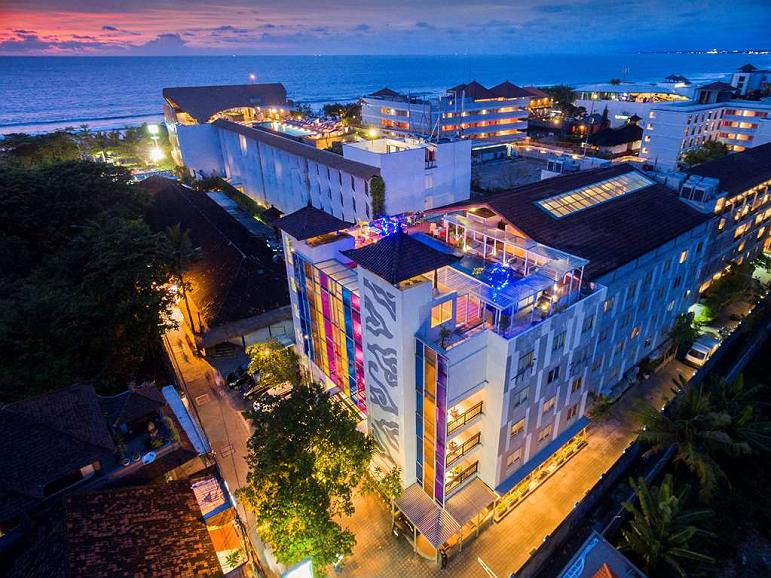 Best Western Kuta Beach - Building View from the TOP
