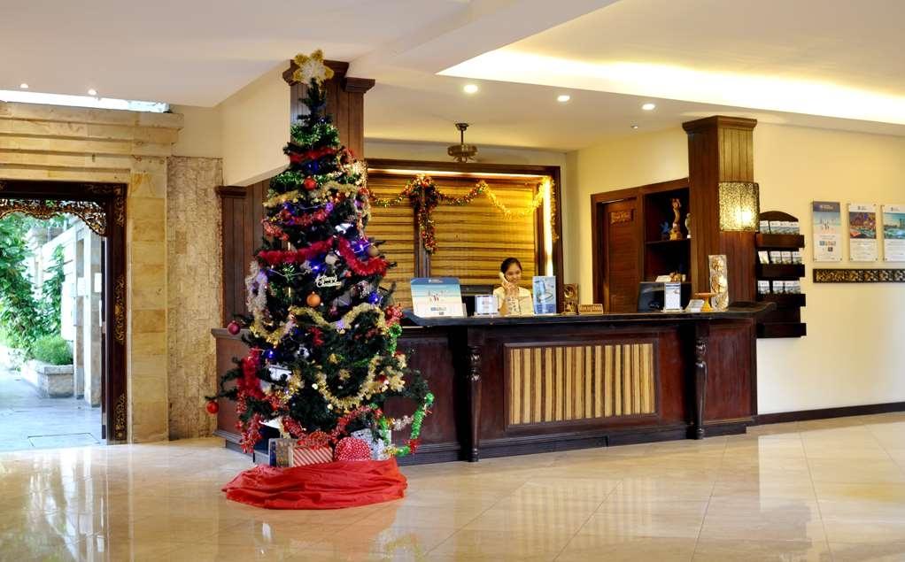 Best Western Kuta Villa - Vue du lobby