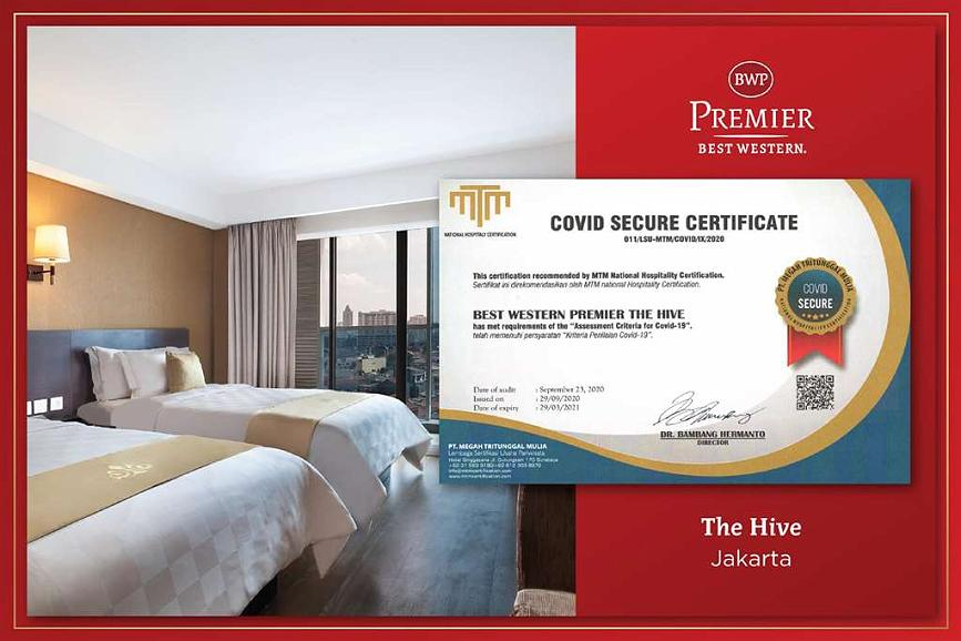 Best Western Premier The Hive - CHS Certification BWP The Hive