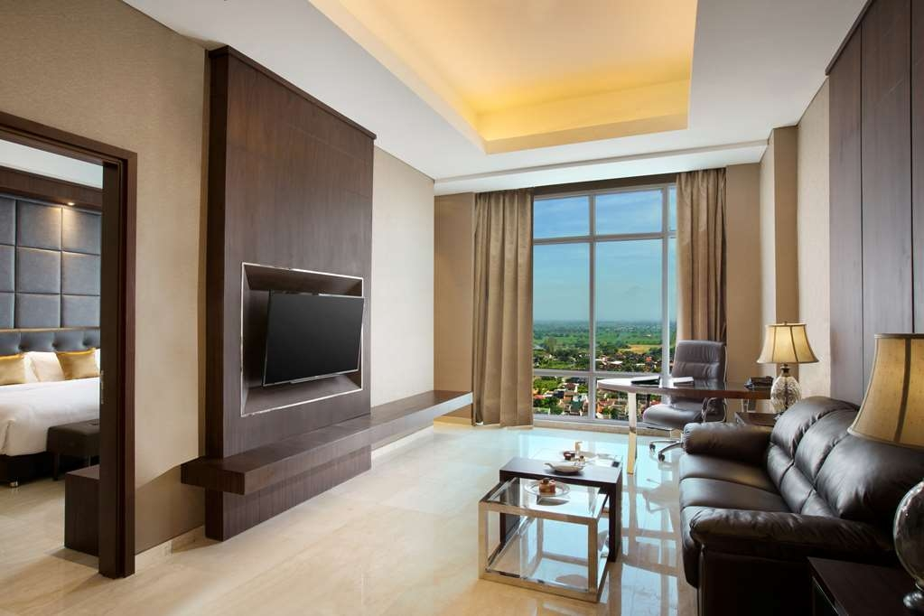 Best Western Premier Solo Baru - Suite 1 Double Bed - Living Room