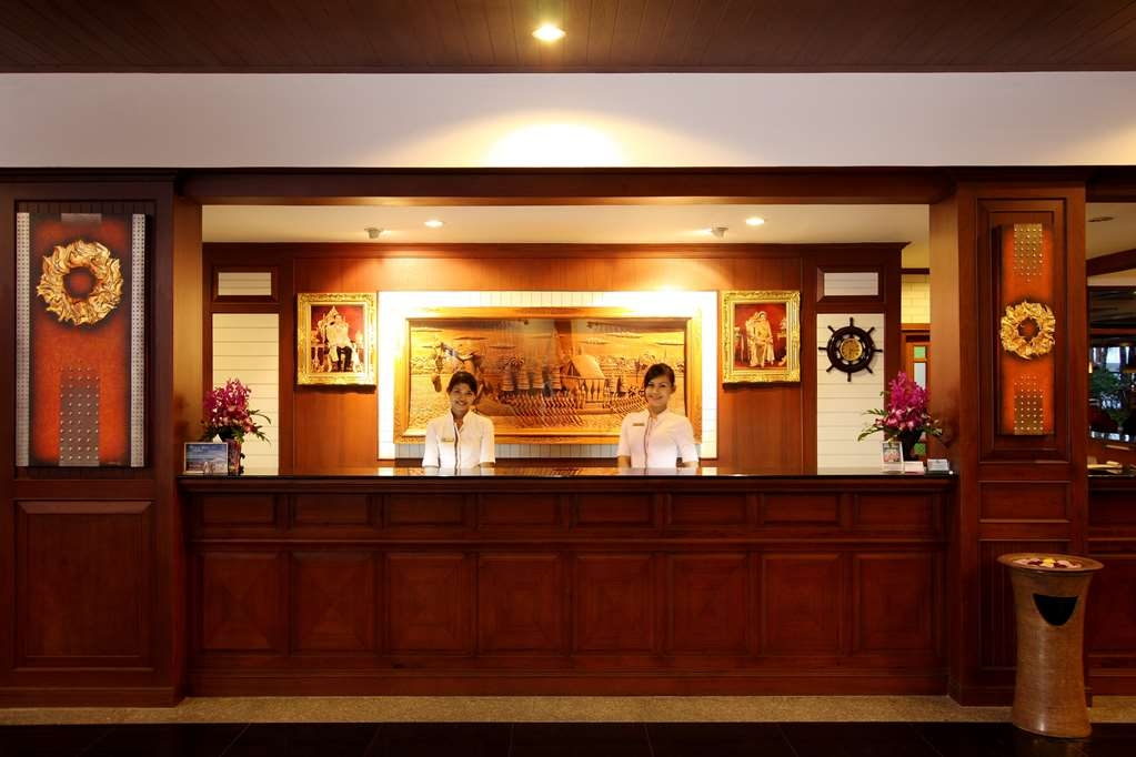 Best Western Premier Bangtao Beach Resort & Spa - recepción
