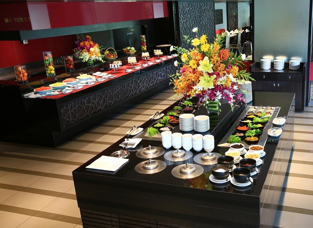 Amaranth Suvarnabhumi Airport, BW Premier Collection - buffet