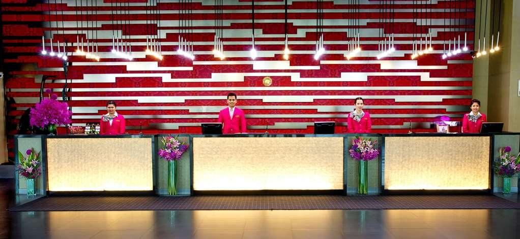 Amaranth Suvarnabhumi Airport, BW Premier Collection - Vista del vestíbulo