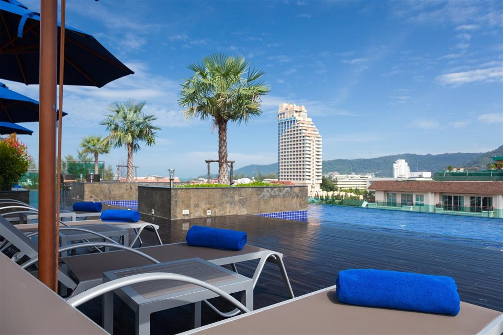 Best Western Patong Beach - Poolansicht