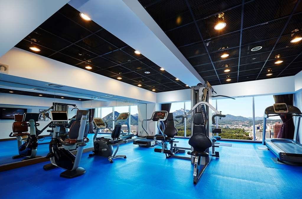 Best Western Premier Hotel Kukdo - exercise chambre