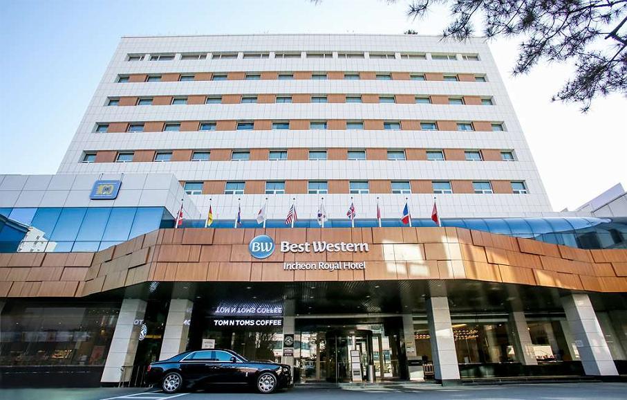 Best Western Incheon Royal Hotel - Vista exterior