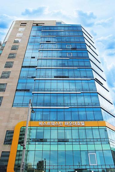 Best Western Haeundae Hotel - Aussenansicht