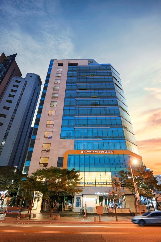 Best Western Haeundae Hotel - Facciata dell'albergo