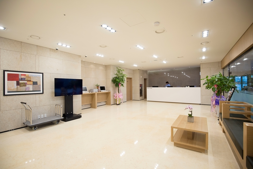 Best Western Haeundae Hotel - Vista del vestíbulo