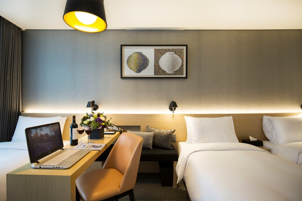 Best Western Arirang Hill Dongdaemun - Three Twin Bed Guest Room
