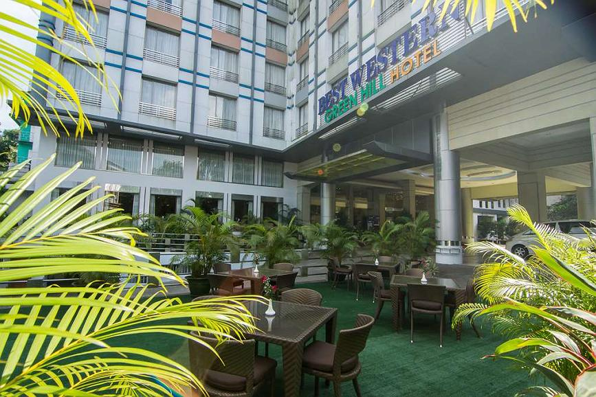 Best Western Green Hill Hotel - Area esterna