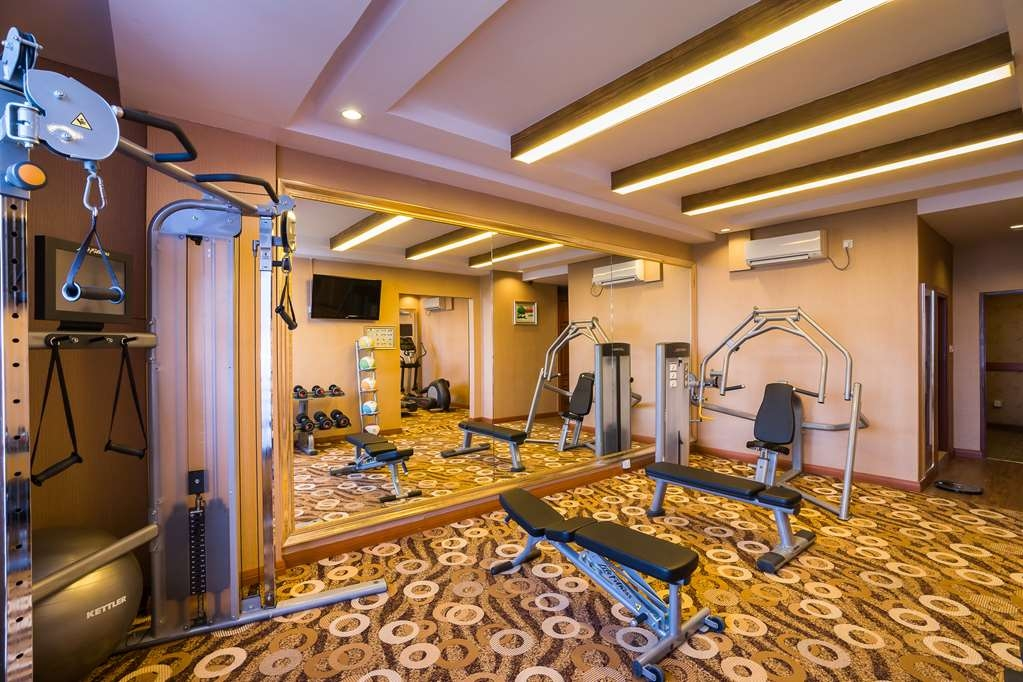 Best Western Green Hill Hotel - Fitnessstudio