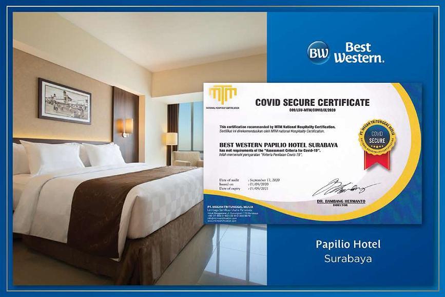 Best Western Papilio Hotel - Area esterna