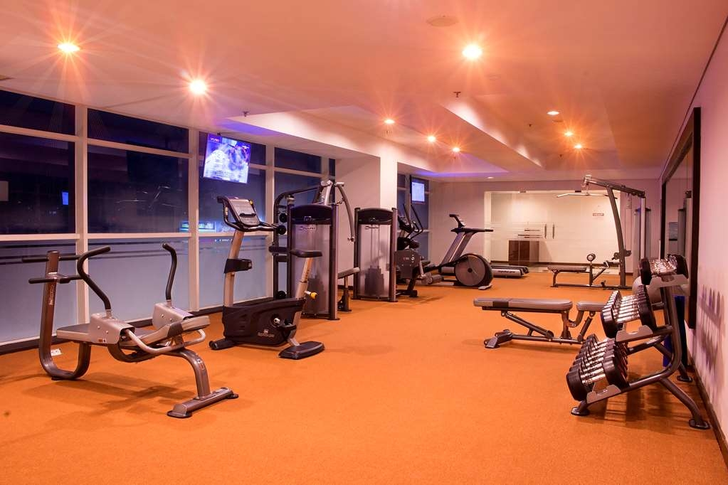 Best Western Plus Coco Palu - Sala fitness
