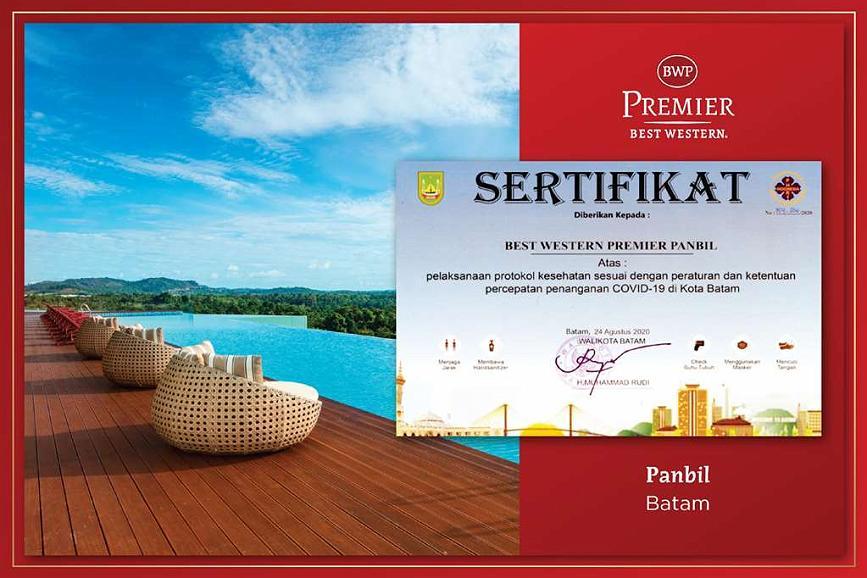 Best Western Premier Panbil - CHS Certification BWP Panbil