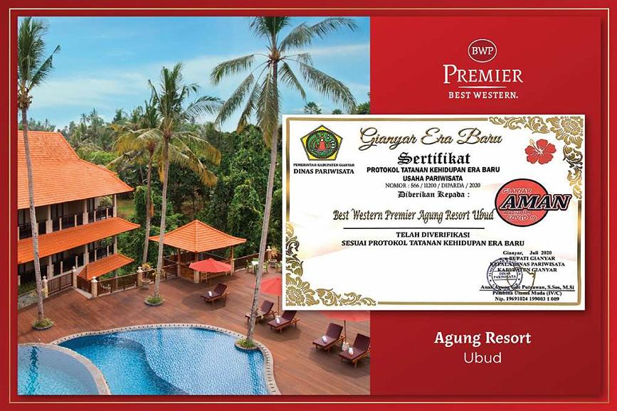 Best Western Premier Agung Resort Ubud - CHS Certification BWP Agung