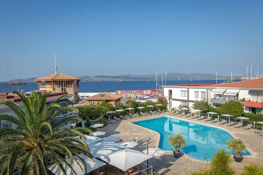 Best Western Plus Hotel La Marina - Piscine et vue mer